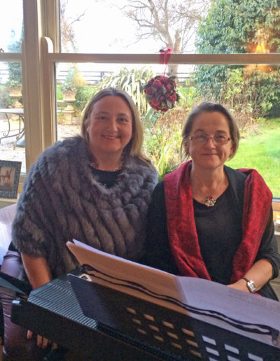 Valerie Leahy and Marian Ingoldsby